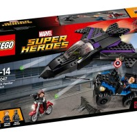 LEGO Civil War Black Panther Pursuit 76047 Photos Preview!