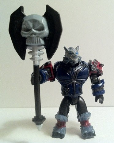 Graven Worgen World of Warcraft Mega Bloks Figure Fall 2012 Series 1