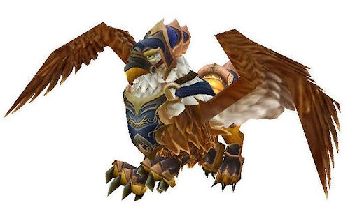 Swift Blue Gryphon Mount World of Warcraft Screenshot