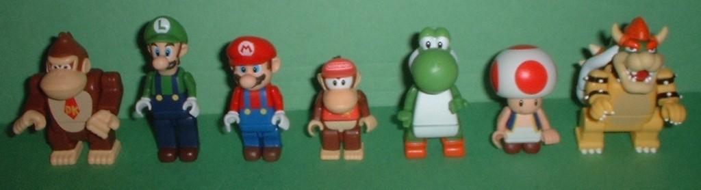 CODE NUMBER LIST: K'NEX Mario Kart Mystery Pack Blind Bags Figures