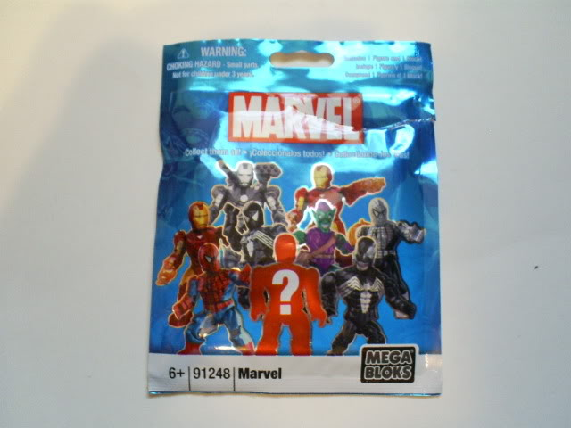 Code Number List Marvel Mega Bloks Series 1 Mystery Pack