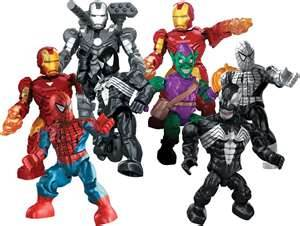 Marvel Mega Bloks Mystery Packs Series 1 Lineup