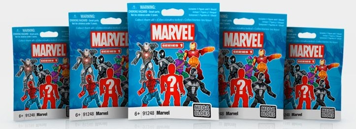 Mega Bloks Marvel Blind Bags Series 1 International Packaging