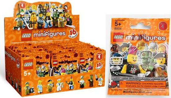 Dot Codes List Lego Minifigures Series 4 8804 Bricks