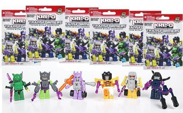 Transformers Kre-O Micro Changers Preview Series Set