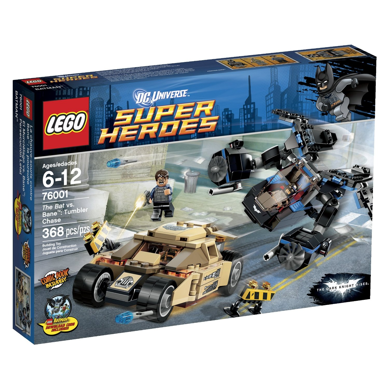 Lego marvel superheroes spider cycle chase 76004 price 19 99