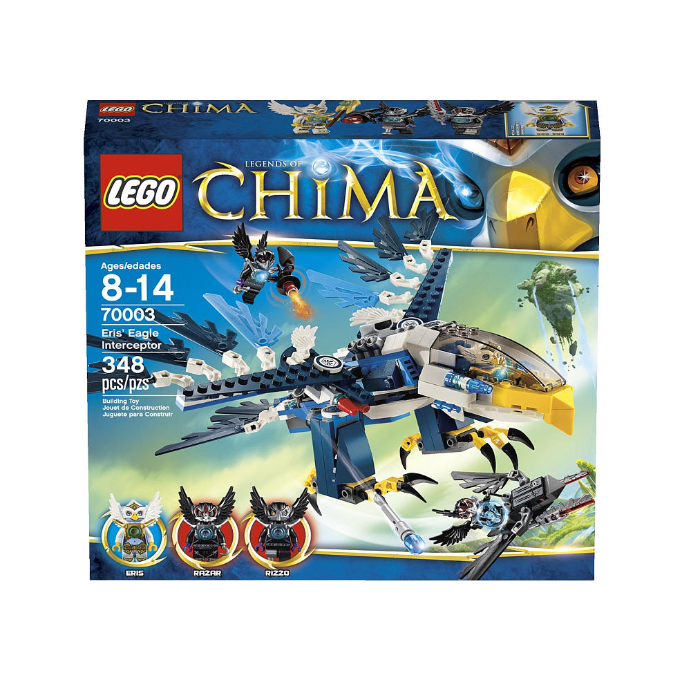 LEGO Legends of Chima 70003 Eris' Eagle Interceptor Box