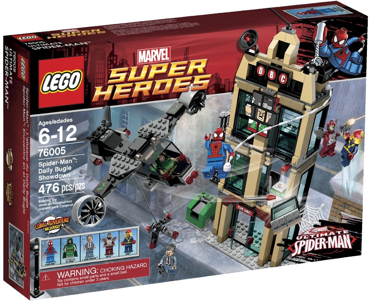 LEGO Superheroes 2013 DC & Marvel - 358.3KB