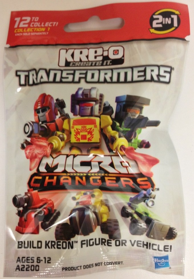 2013 Kre-O Transformers Kreon Micro-Changers Series 1 Blind Bag