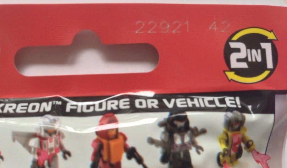Transformers Kreons Micro-Changers Series 1 Codes Location on Blind Bag