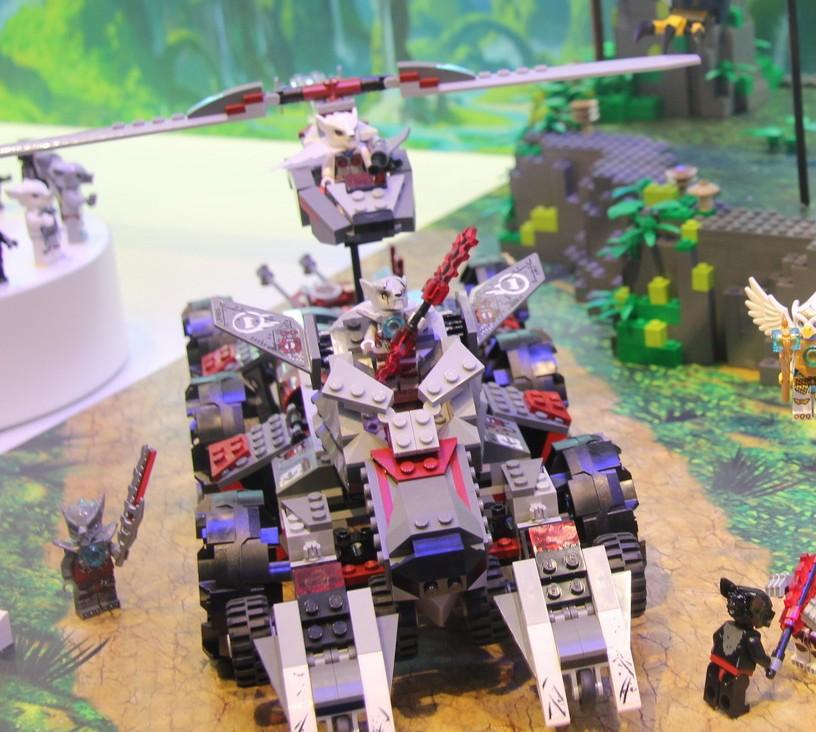 Lego Legends Of Chima Worriz S Combat Lair 70009 Revealed