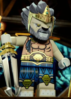 LEGO Chima Lagravis King of the Lion Tribe