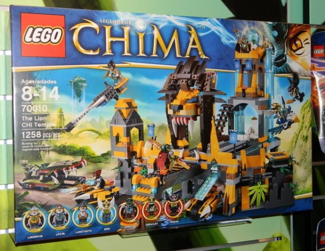 LEGO Chima The Lion CHI Temple 70010 Toy Fair 2013