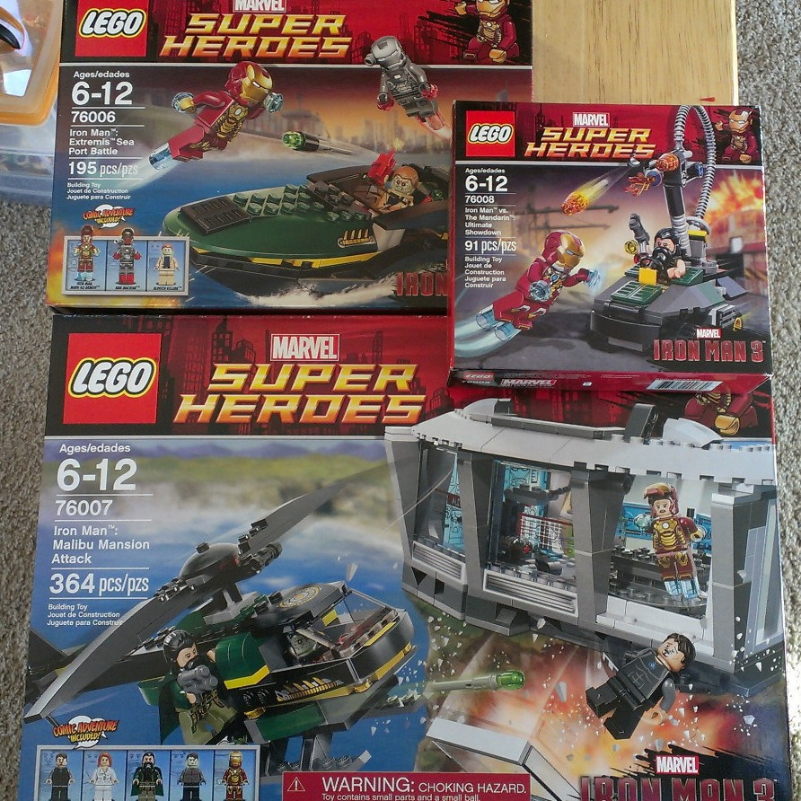 2013 lego superheroes iron man 3 sets released in stores - Lego iron man 3 ...