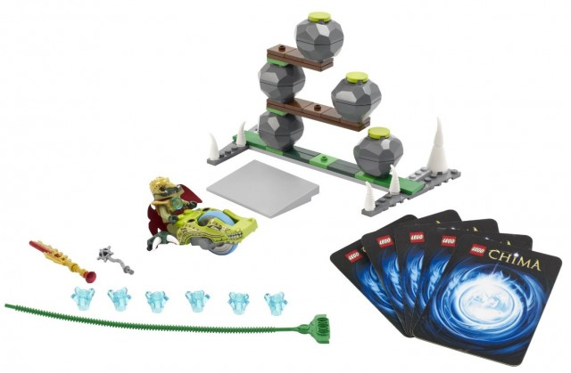 LEGO Legends of Chima Boulder Bowling 70103 Speedorz Set