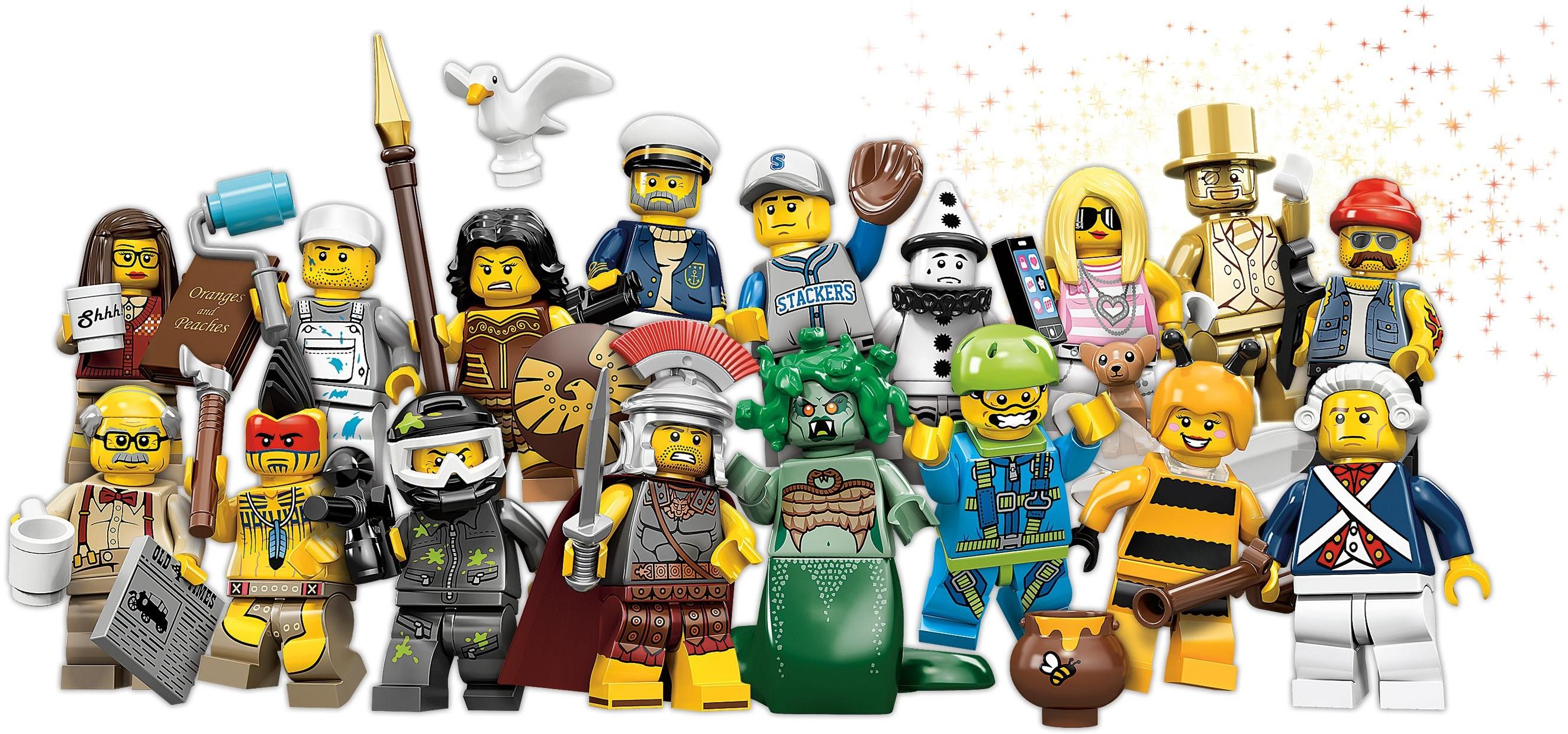 Лего minifigures 1500 spiele - c