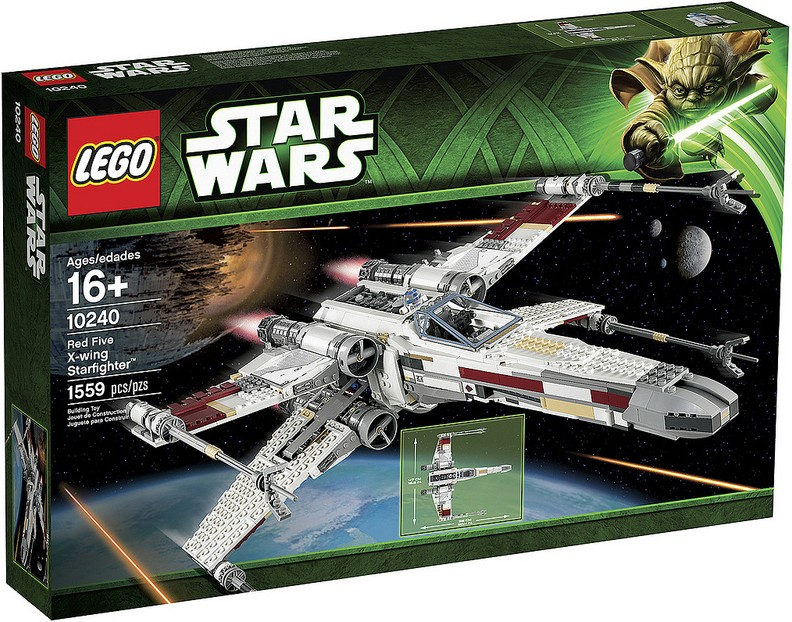 LEGO Star Wars Red Five X-Wing Starfighter 10240 UCS Set Announced