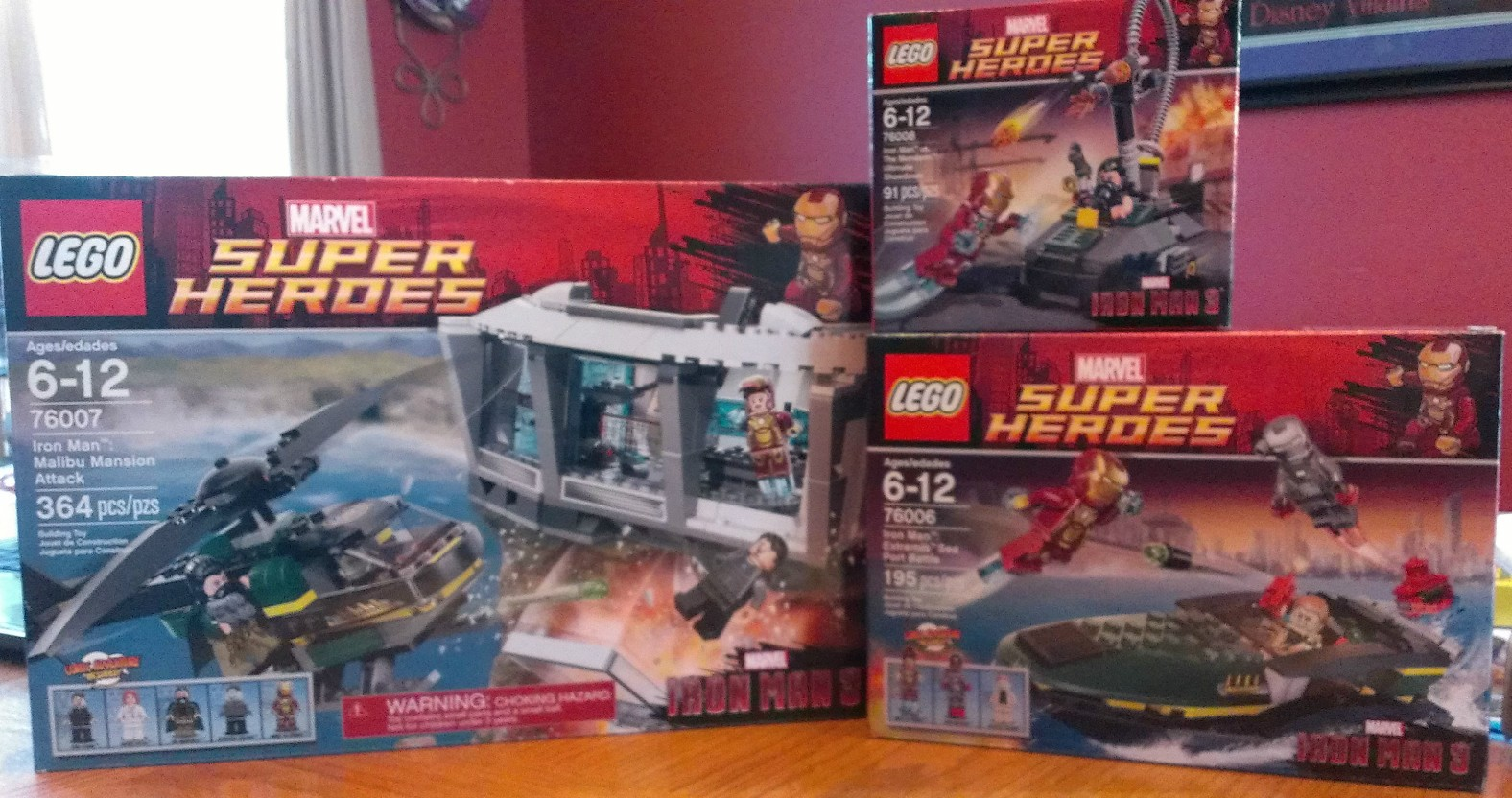 2013 LEGO Superheroes Iron Man 3 Sets Released In Stores Early