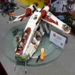 LEGO Star Wars Republic Gunship 75021 Summer 2013 Set Preview