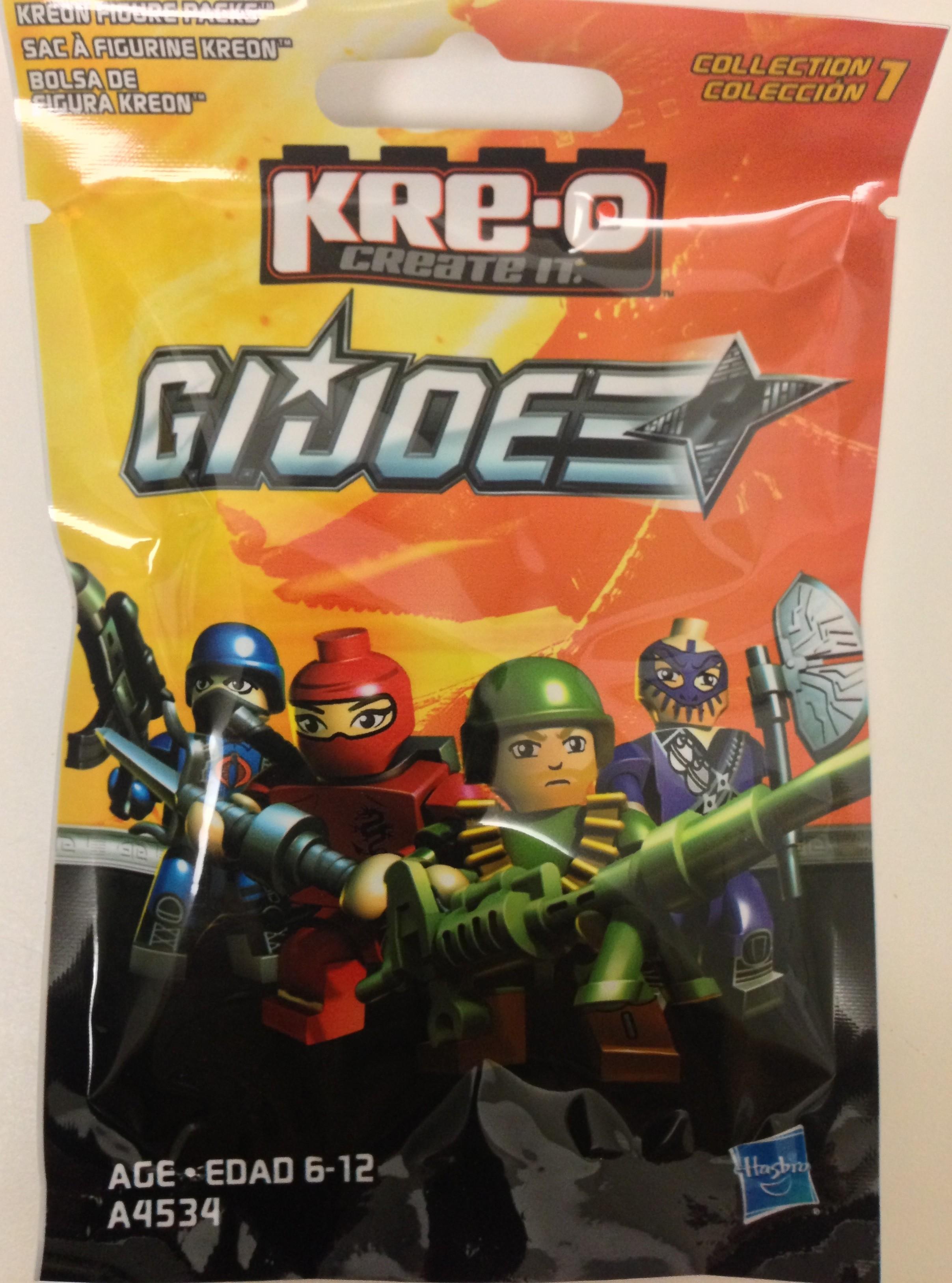 Joe Cobra Slice Action Figure Kreo GI Joe Complete A4534 KRE-O G.I