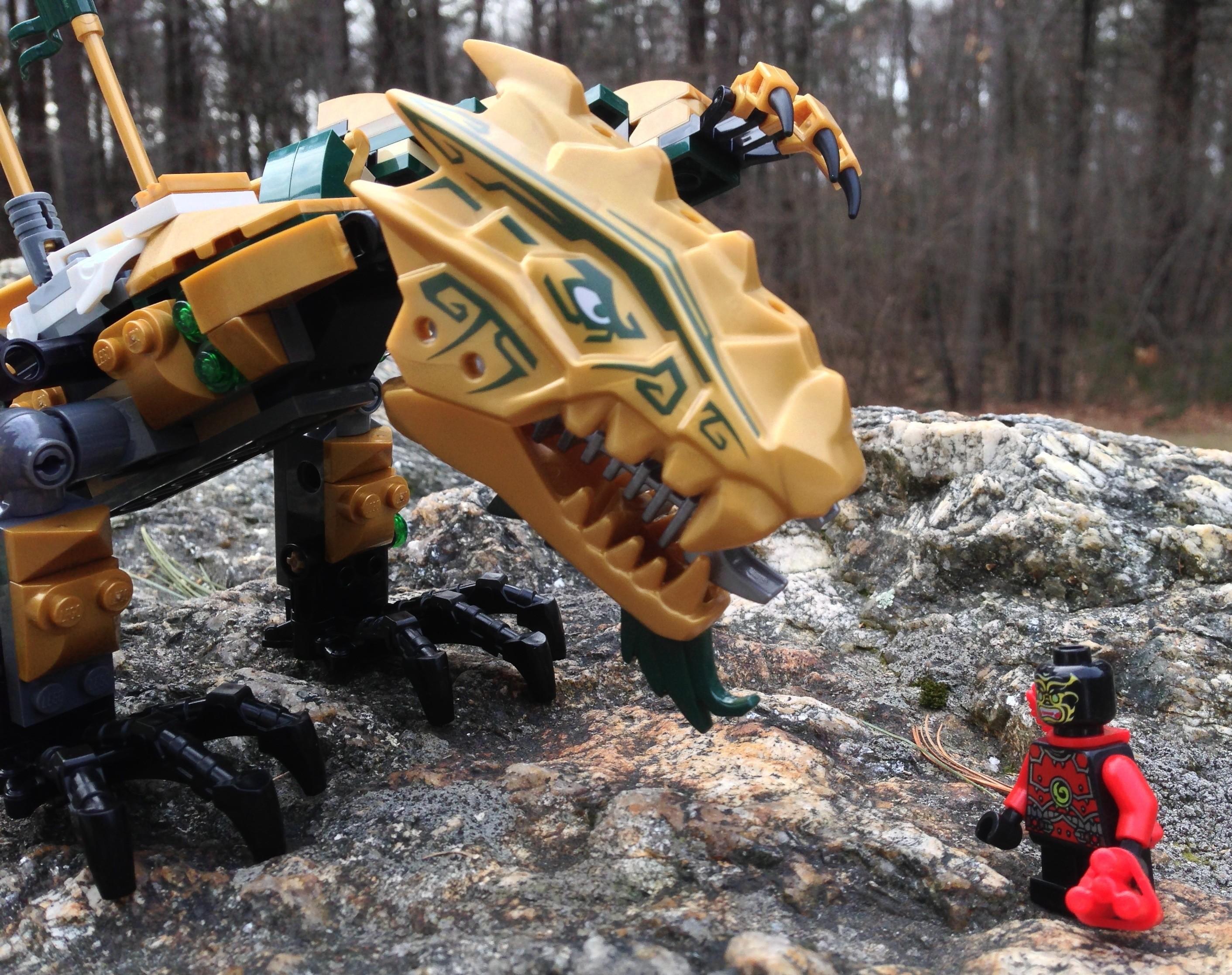 LEGO Ninjago Golden Dragon 70503 Review & Photos - Bricks ...
