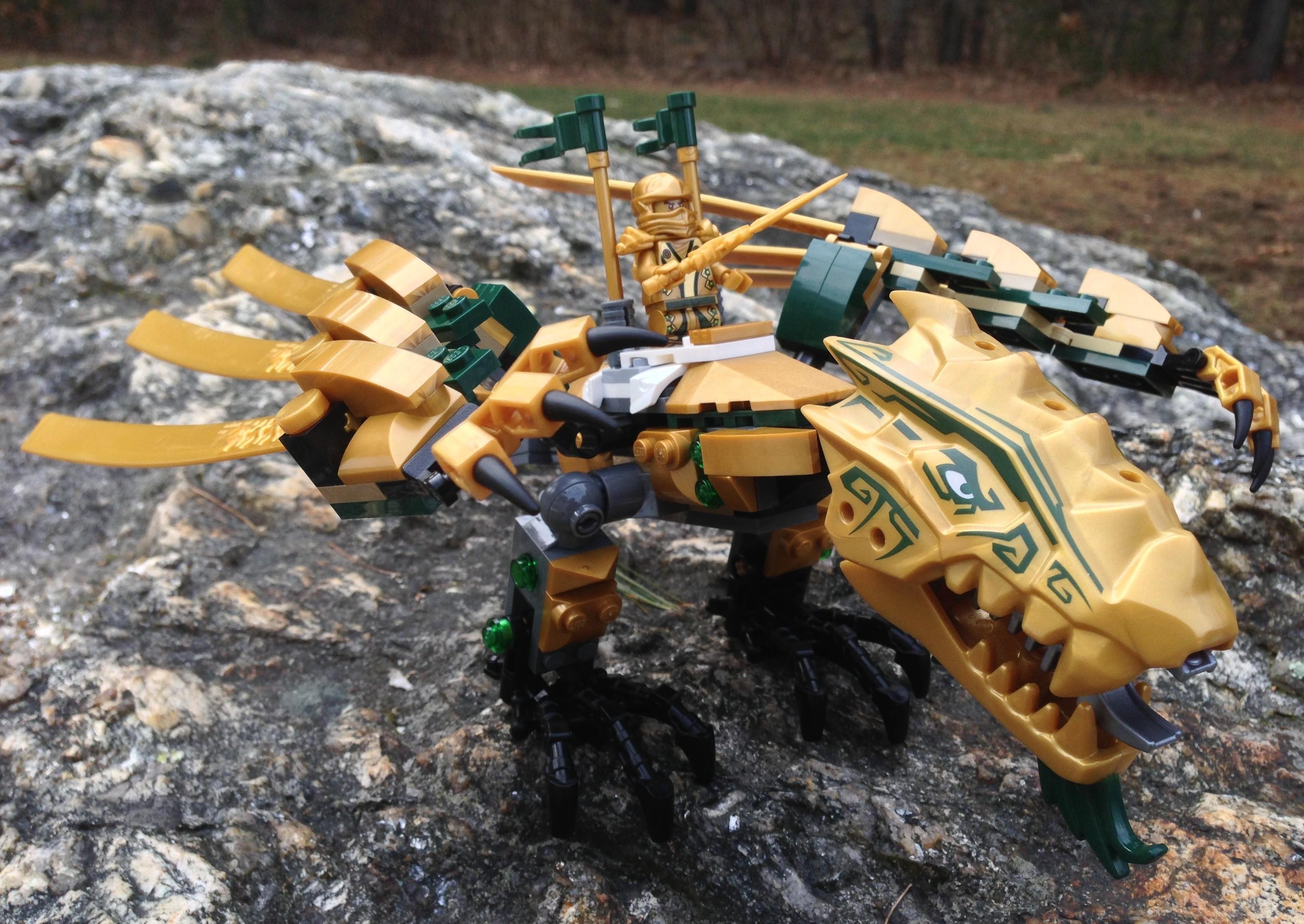 lego ninjago golden dragon 70503 review photos bricks and bloks. Black Bedroom Furniture Sets. Home Design Ideas