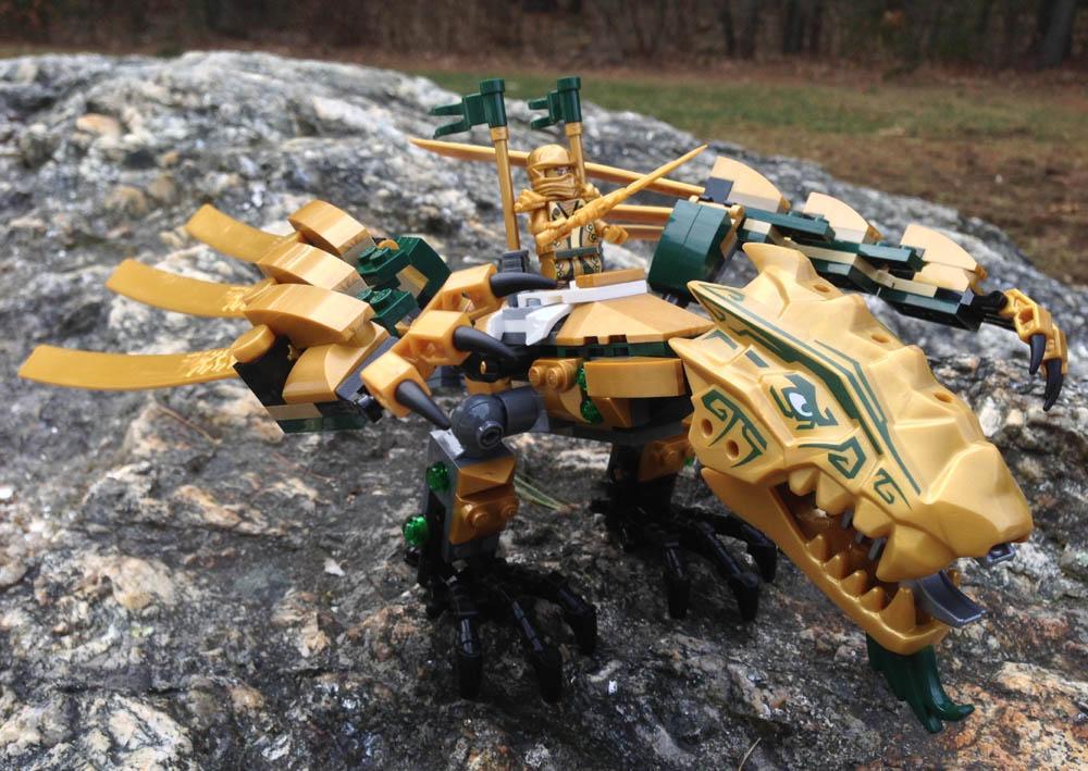 Lego Ninjago Golden Dragon 70503 Review Photos Bricks And Bloks