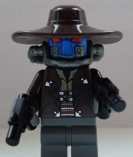 LEGO Star Wars Cad Bane Minifigure Clone Wars
