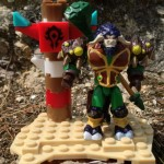 World of Warcraft Mega Bloks Wildhide Tauren Druid Figure Review