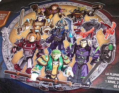 World of Warcraft Mega Bloks Series 1 Mystery Packs Figures