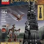 LEGO Lord of the Rings Tower of Orthanc 10237 Giant Set Revealed!