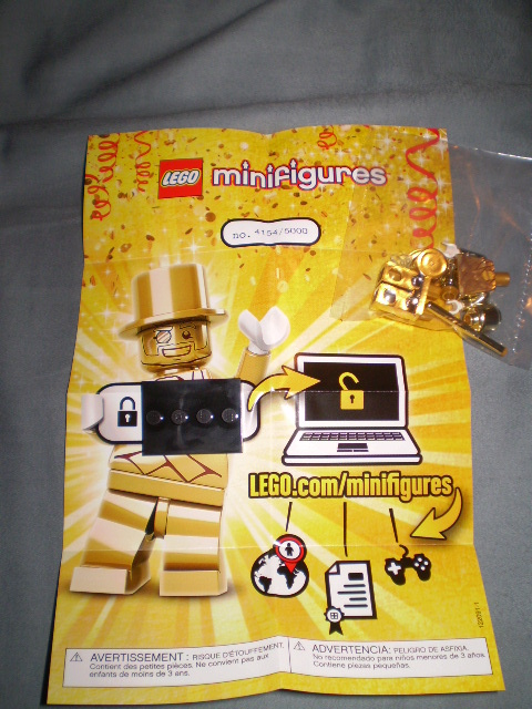 "LEGO Mr. Gold Minifigure: ""How Much Is It Worth?"" with Sales Data ..."