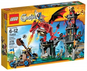 2013 LEGO Castle Dragon Mountain 70403 Box
