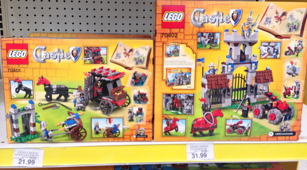 Lego Castle 2013 Sets Found In United States Stores Bricks And Bloks