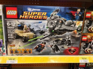 LEGO Superman Battle of Smallville 76003 Released in Stores Man of Steel