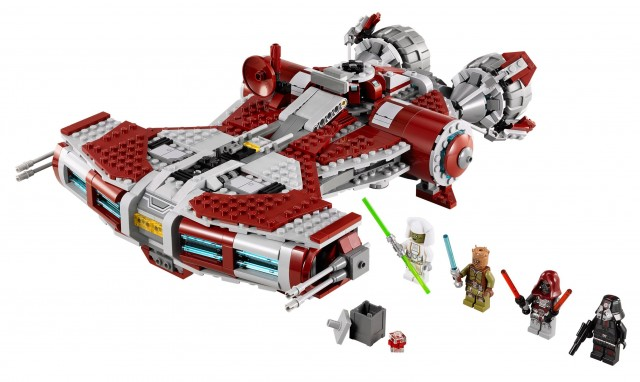 75025 LEGO Star Wars Jedi Defender-Class Cruiser with The Old Republic Minifigures