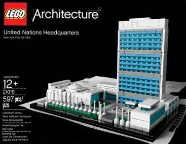 LEGO 21018 Architecture United Nations Headquarters Set 2013