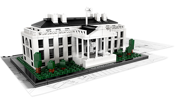 LEGO Architecture The White House Washington DC USA Set