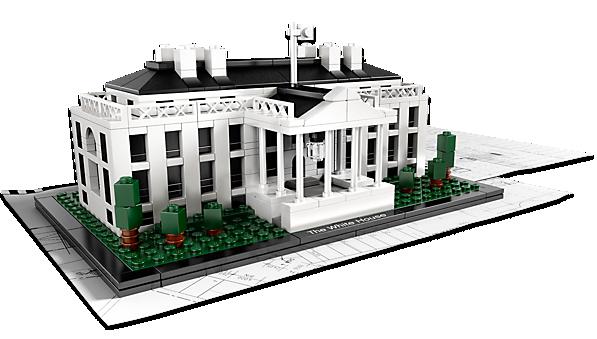 LEGO Architecture The White House Washington DC USA Set
