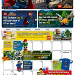 June 2013 LEGO Store Calendar Free Jor-El Minifigure Promo & Events