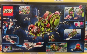 LEGO Galaxy Squad Hive Crawler Summer 2013 Set Box Back