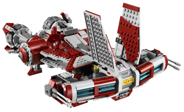 LEGO Star Wars 75025 Jedi Defender Class Cruiser Set from The Old Republic MMORPG
