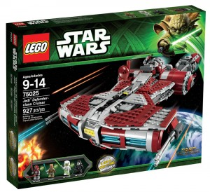 LEGO Star Wars Jedi Defender Class Cruiser Box Summer 2013