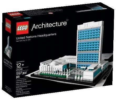 LEGO United Nations Headquarters 21018 LEGO Architecture 2013 Set