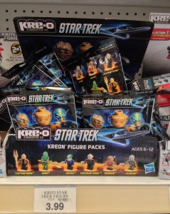 Star Trek Kre-O Figures Series 1 Case of Blind Bags