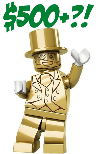 LEGO Mr. Gold Minifigure Update: Still Selling For $500+ But Why ...