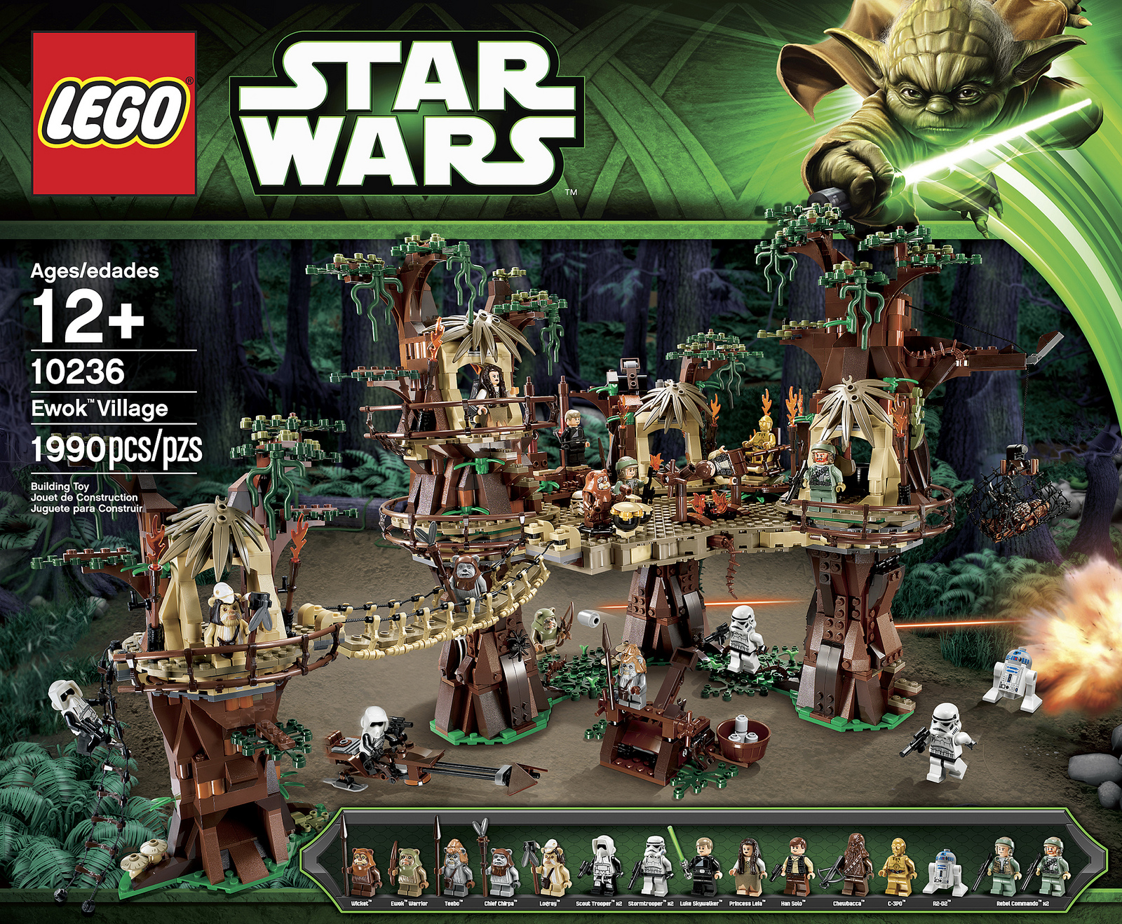 Lego star wars ewok village 10236 fully revealed w video photos