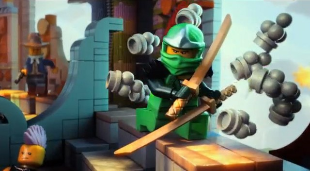 The LEGO Movie 2014 Ninjago Green Ninja Screenshot