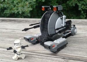 LEGO 75015 Clone Trooper Runs from Tank Droid Summer 2013 Star Wars