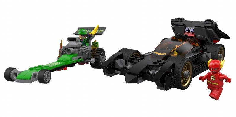 2014 LEGO Batman Riddler Chase Set with LEGO The Flash Minifigure